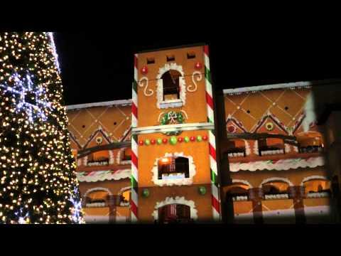 Christmas House Projection Video Doovi