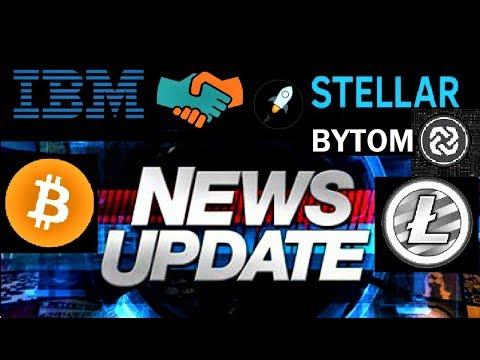 LATEST CRYPTO NEWS AND ANALYSIS: Stallar, Litecoin, Bitcoin & Bytom  Exchange
