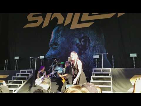 Skillet  Hero; DTE Energy Music Theatre; Clarkston, MI 7302017
