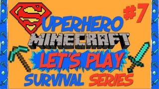 Minecraft let's play superhero survival style (ep 7) alternate dimension