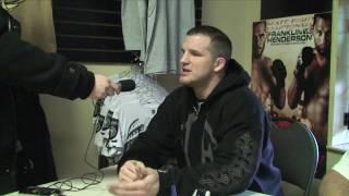Matt Hamill Interview at Tuff Stuff in Barrie   World Fight Products