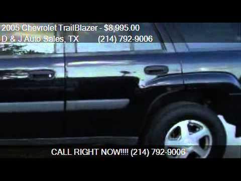 2005 Chevrolet TrailBlazer LS 4dr SUV for sale in Dallas, TX