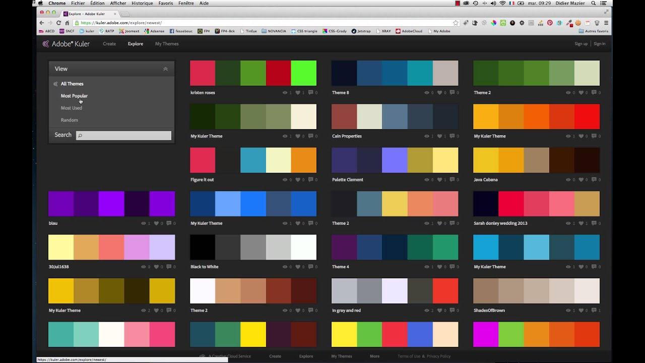 cr ation graphique 3 typographie et couleurs les. Black Bedroom Furniture Sets. Home Design Ideas
