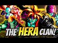 THE BEST EX UNIT IN THE GAME! Hera Clan Showcase! Dragon Ball LEGENDS PvP