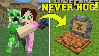 Minecraft: *NEVER* HUG CREEPERS!!! - CREEPER'S WORLD - Custom Map