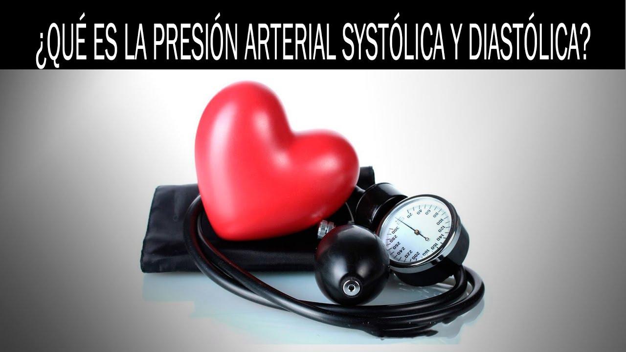 Que es presion sistolica