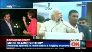 Dr Sambit Patra Speaks on Spectacular Victory of Modi on CNN International News