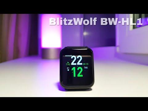 BlitzWolf BW-HL1 - обзор умных часов с измерением давления за 20$