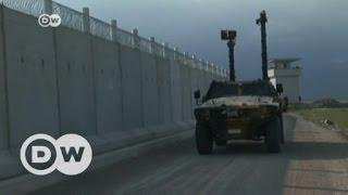 New wall closes Turkey-Syria border | DW English