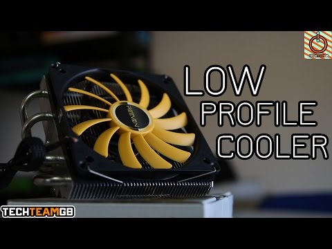 REEVEN Brontes Low Profile CPU Cooler Review