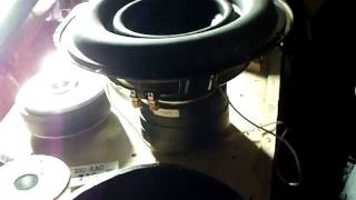 Sony xplod Huge motor ! crazy custom subwoofer