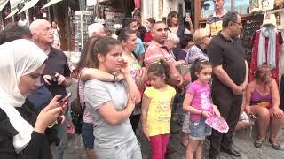Ansambli i Egjiptit interpreton në kalldrëmet e Gjirokastrës - Top Channel Albania - News - Lajme