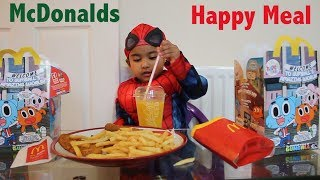 Kids Love to Have McDonalds Happy Meal & Play with Toys | Beautiful Ishfi