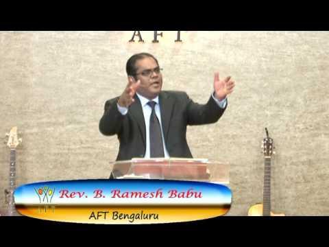 Pastor Ramesh AFT Bangalore Sermon Meditation#8