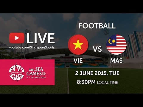 Football: Vietnam vs Malaysia | 28th SEA Games Singapore 2015