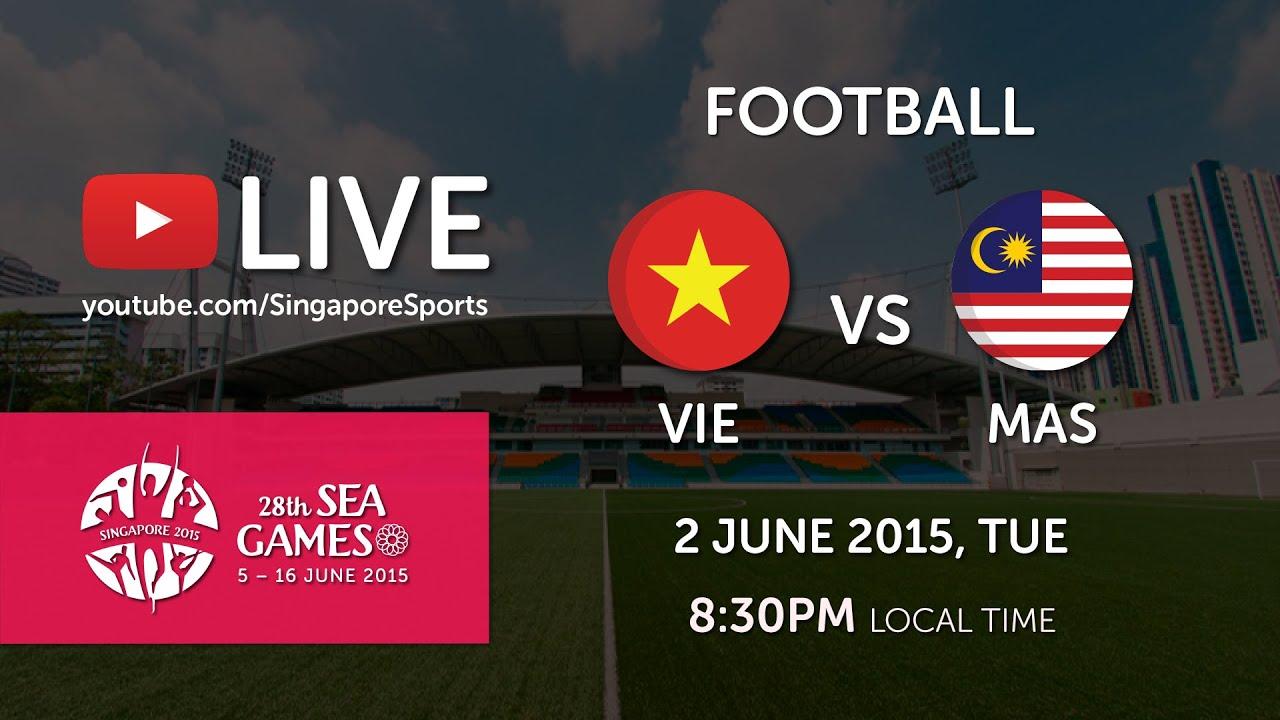 Football Vietnam Vs Malaysia 28th Sea Games Singapore
