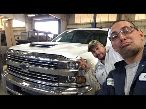 How to change fuel filter 2017 CHEVY DURAMAX 2500 HD LTZ
