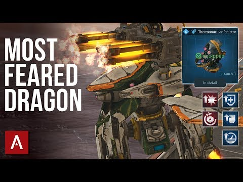 The Most Feared Dragon - NEW Ao Jun Robot With Deadly Avengers Max Level | War Robots Gameplay