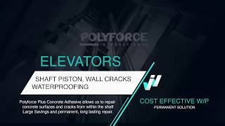 Polyforce Waterproofing Applications