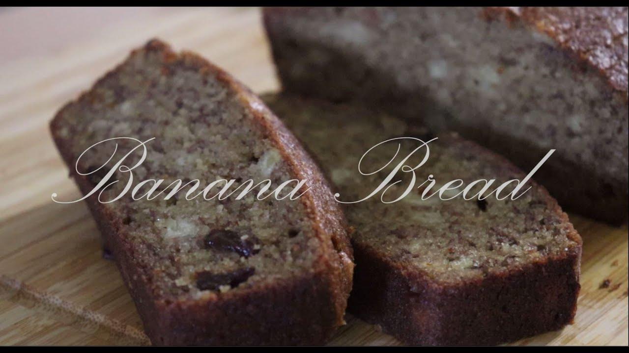 Banana Bread Recipe / Healthy and Moist / VanHwang