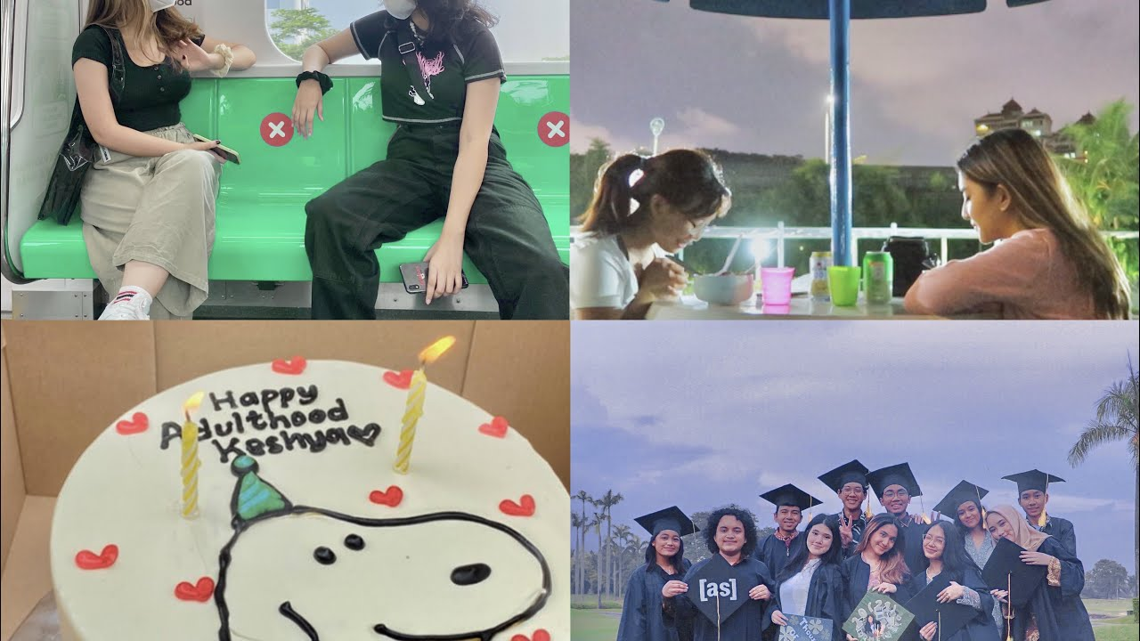 graduation, birthday surprises, and old friends // log #30