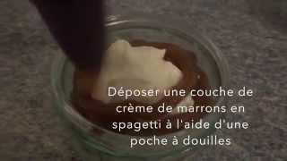 Mont Blanc Recette