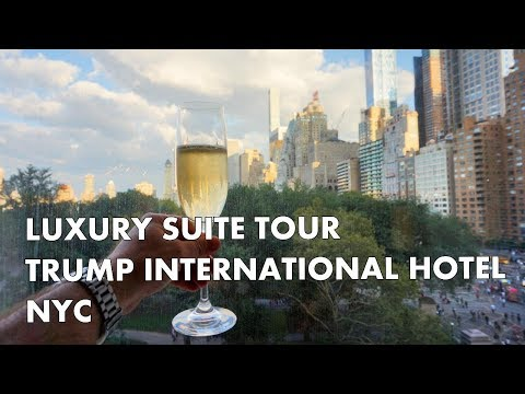 EPIC LUXURY CENTRAL PARK VIEW HOTEL SUITE - Trump International Hotel