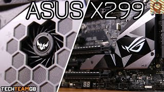 Asus X299 STRIX-E & TUF Mark 1 Motherboard Reviews