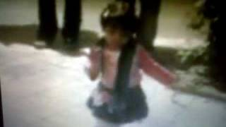 Best Baba Karam Dance by a 2year old persian girl!!