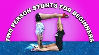 Partner Gymnastic Tricks! | The Rybka Twins