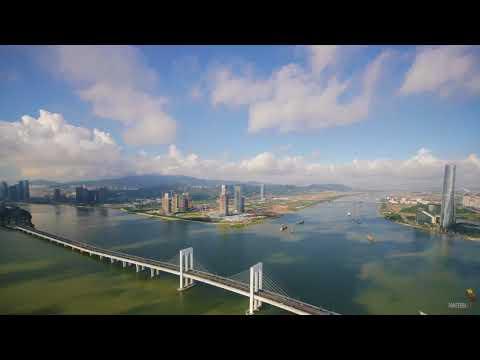 Macau Tower & Hengqin Development | time lapse
