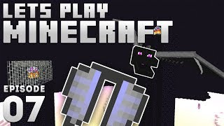 iJevin Plays Minecraft - Ep. 7: DRAGON FIGHT & ELYTRA! (1.15 Minecraft Let's Play)