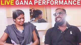அழகு அழகு... என் தங்கச்சிதான் அழகு! - 'கானா' முத்து - இசைவாணி | Colors Tamil