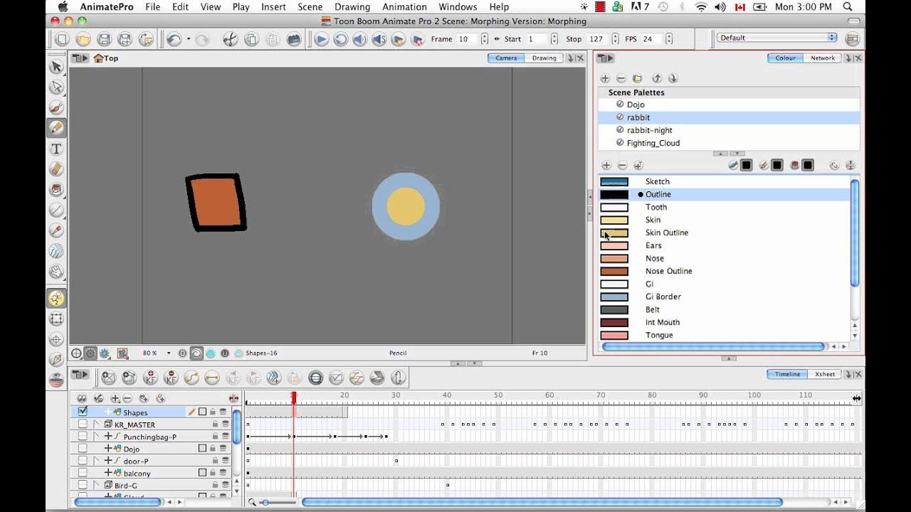 Diagram Toon Boom Animate Pro 2 Video Tutorials
