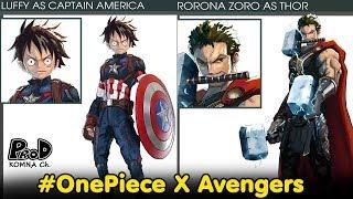 วันพีช-ถ้าวันพีชเป็นอเวนเจอร์จะเท่ขนาดไหน-onepiece-x-avengers-komna-channel