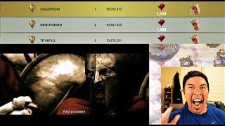 EPIC LEGEND LEAGUE VP BATTLE | League of Gods Vs Born Phoenix | Dawn of Titans War | League Lookback