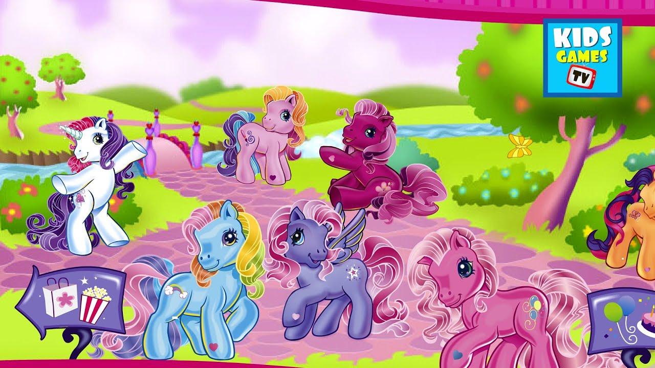 my little pony meet the ponies of ponyville book