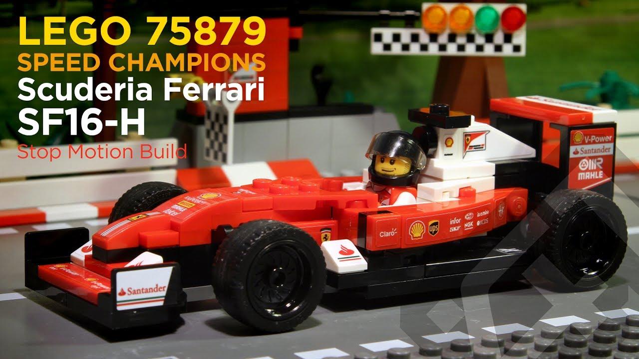 lego speed champions 75879 scuderia ferrari sf16 h. Black Bedroom Furniture Sets. Home Design Ideas