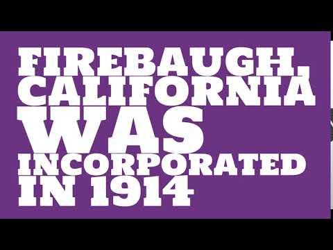 When was Firebaugh, California founded?