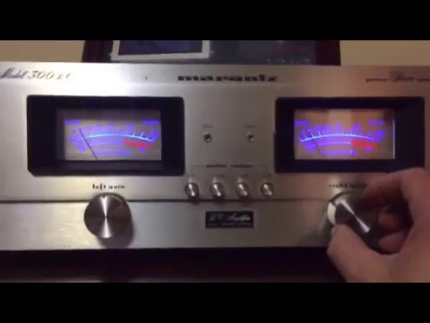 Testing a Marantz Model 300dc Amplifier and a 2325 Stereo Receiver the it's for sale on EBay .