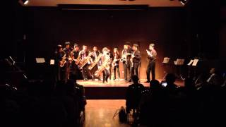 Rag Time Dance By Mahidol Saxophone Ensemble