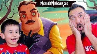 GİZEMLİ KOMŞU MERHABA! | HELLO NEIGHBOR #1