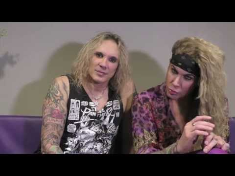 Steel Panther interview - Michael and Lexi (part 1)
