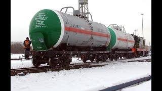 Роспуск вагонов на станции Нижний Новгород - Сортировочный