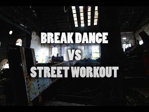 WHEN BREAKDANCE MEETS STREET WORKOUT ! ft. Bboy Kid Endri
