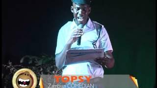 TOPSY ZAMBIAN COMEDIAN - HEADLINES JOKE