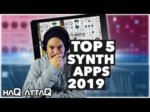 my TOP 5 Synthesizer Apps 2019 for iOS | haQ attaQ