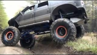 Копия видео ФОРДЗИЛЛА! Самый крутой внедорожник!(Ford Excursion Limited