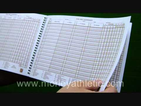 Nfhs Official Wrestling Scorebook - Youtube