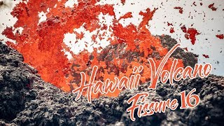 4K Hawaii Volcano Kilauea Eruption 2018 Fissure 16